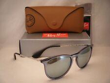 Ray Ban 4171 Erika Grey w Silve Flash Mirror Lens NEW sunglasses (RB4171 631930)