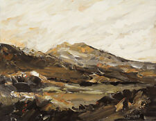 Welsh Mountains ORIGINAL LANDSCAPE PAINTING Snowdonia Steve Greaves Art Kyffin