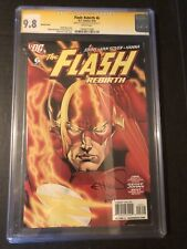 Flash Rebirth 6 CGC 9.8 SS Ethan Van Sciver DC Variant Cover White Pages