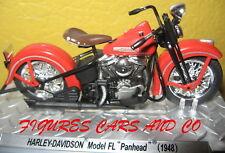 1/24 MOTO HARLEY DAVIDSON FL PANHEAD 1948