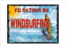 style vintage Planche à voile signe rétro cuisine Surfing Plaque murale