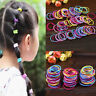 Mixed Colors 100pcs Baby Girl Kids Tiny Hair Bands Elastic Ties Ponytail Holder