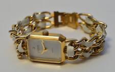 Joan Rivers Classics Ladies Quartz Watch White w/ Diamond Dial new battery