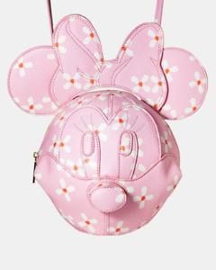Danielle Nicole & Disney 3D Minnie Cherry Blossom Crossbody Bag NEW PACKAGED