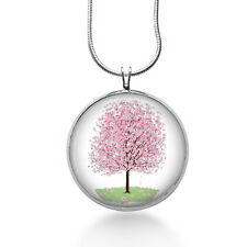 Cherry Blossom Necklace Cherry Blossom Pendant Cherry Blossom Jewelry