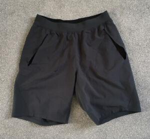Lululemon Men's Athletic Shorts Grey Size L Pockets 9in Leg (J4U1)