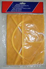 sac de rangement jaune pour pince à linge