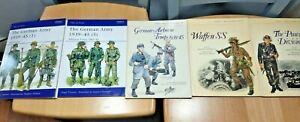 osprey men at arms books German WW2 books * 5