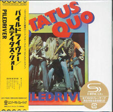 STATUS QUO-PILEDRIVER +1-JAPAN MINI LP SHM-CD Ltd/Ed  G00