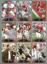 2011 Upper Deck Oklahoma COMPLETE SET, PETERSON, BOSWORTH, STOOPS SWITZER