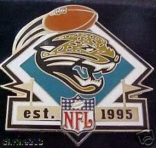 Jacksonville Jaguars Established 1995 Collector Pin PDI