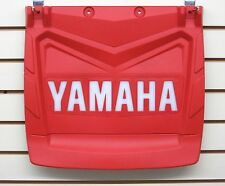 Yamaha Snow Flap-Snowmobile-Red with white Yamaha letters-Fits most models-New