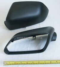 MIRROR COVER BLACK LEFT NEW FOR VW POLO 9N2 ALL 05>09