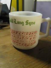Hazel Atlas Tom & Jerry Auld Lang Syne Egg Nog Tea Cup