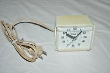 Vintage Timex model 7369A Electric Mid Century Alarm Clock Tested and Works Usa