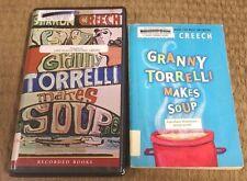 GRANNY TORRELLI MAKES SOUP Book w/ Cassette Tape SHARON CREECH Listening Center