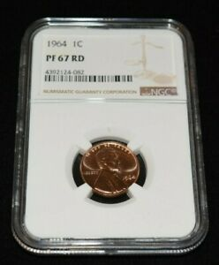 1964 Proof 1C Lincoln Memorial Cent NGC PF 67 RD Exceptional Eye Appeal