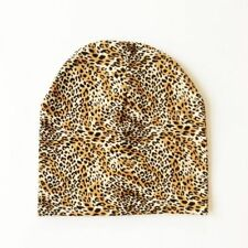 Baby Winter Hat Cap For Boy Girl Animal Print Beanie Cotton Comfy Toddler Hats