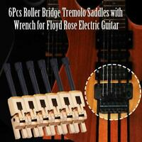 Guitar Tremolo Bridge Saddles for Floyd Rose Electric Guitar Musical Instrument