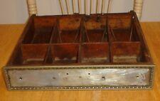 Antique National Cash Register Wooden Drawer / Money Holder # S53704 (NCR) Parts