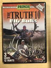 The Truth 10 - Big Bulls (DVD, 2006, Hunting) - F0428