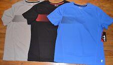 Fila Sport Performance Short Sleeve T-Shirt Tee Mens Athletic Top MSRP $30.00