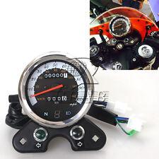 Odometer Speedometer Tachometer Speedo Meter km/h mph for GN125 CB EN Cafe Racer