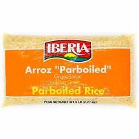 Iberia Arroz Long Grain Parboiled Rice 5 lbs ; Exp Jul 21