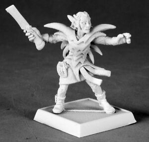 1 x JUSTICE IRONBRIAR - PATHFINDER REAPER miniature figurine rpg rogue elf 60023