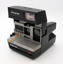 Vintage Polaroid Supercolor 635 LM Program #3089MS cámara de películas instantáneas