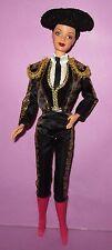 Barbie Collector Spanish Spain Mackie Black Hair DOTW Doll for OOAK or Play!