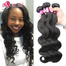 "300g Brazilian Hair 3 Bundles Body Wave Human Hair Weave Extensions 16"" 18"" 20"""