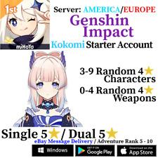 [America/NA/Europe/EU/Asia/AS] Genshin Impact Kokomi Starter Account