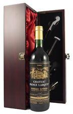 Chateau Prince Larquey 1982 Bordeaux Superieur vintage red wine