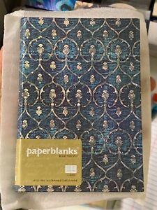 Paperblanks Blue Velvet MIDI Lined (Hardback or Cased Book) NEW