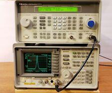 Hp Agilent Keysight 8591e Spectrum Analyzer 9khz 18ghz Fully Tested