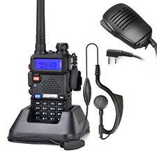 BAOFENG UV-5R Dual Band UHF/VHF Two Way Ham FM Radio Free Speaker Walkie ky
