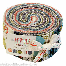 "Moda FABRIC Jelly Roll ~ NOMAD ~ by Urban Chiks 40 - 2 1/2"" Strips"