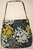 "Vera Bradley Black "" Baroque"" Limited Edition Tote Women's Shoulder Bag Retired"