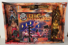 Jakks Pacific WWE THE BIG AND BADD COLLECTION with MONSTER SIZED RING & FIGURES