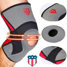 Adjustable Knee Patella Support Brace Sleeve Wrap Cap Stabilizer Sports Guard Rw