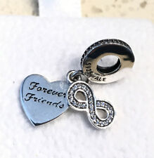 Pandora Forever Friends Charm #791948CZ + FREE Gift Packaging & Pouch