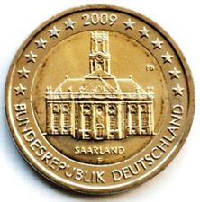 Germany 2 euro 2009 Saarland mint F (#2700)