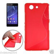 Cover e custodie rosso in silicone/gel/gomma con un motivo, stampa per cellulari e palmari