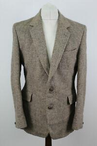 DUNN & CO Harris Tweed Brown Sports Coat size R42