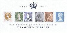 2012 Queen Elizabeth Diamond Jubilee Mini-feuille. Superbe! Livraison gratuite!