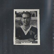 COLINVILLE-FOOTBALL INTERNATIONALS 1958-#37- SOUTHEND - MCGRORY