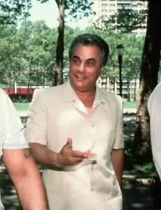 John Gotti Dapper Don Mafia Crime Boss vintage photo reproduction  131