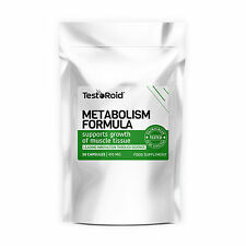 TestoRoid Metabolism Formula Hunger Suppressant Weight loss Fat Burner