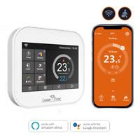Raumthermostat LX-MC6 Touchscreen für Fußbodenheizung, Heiß Wasser SmartHome App